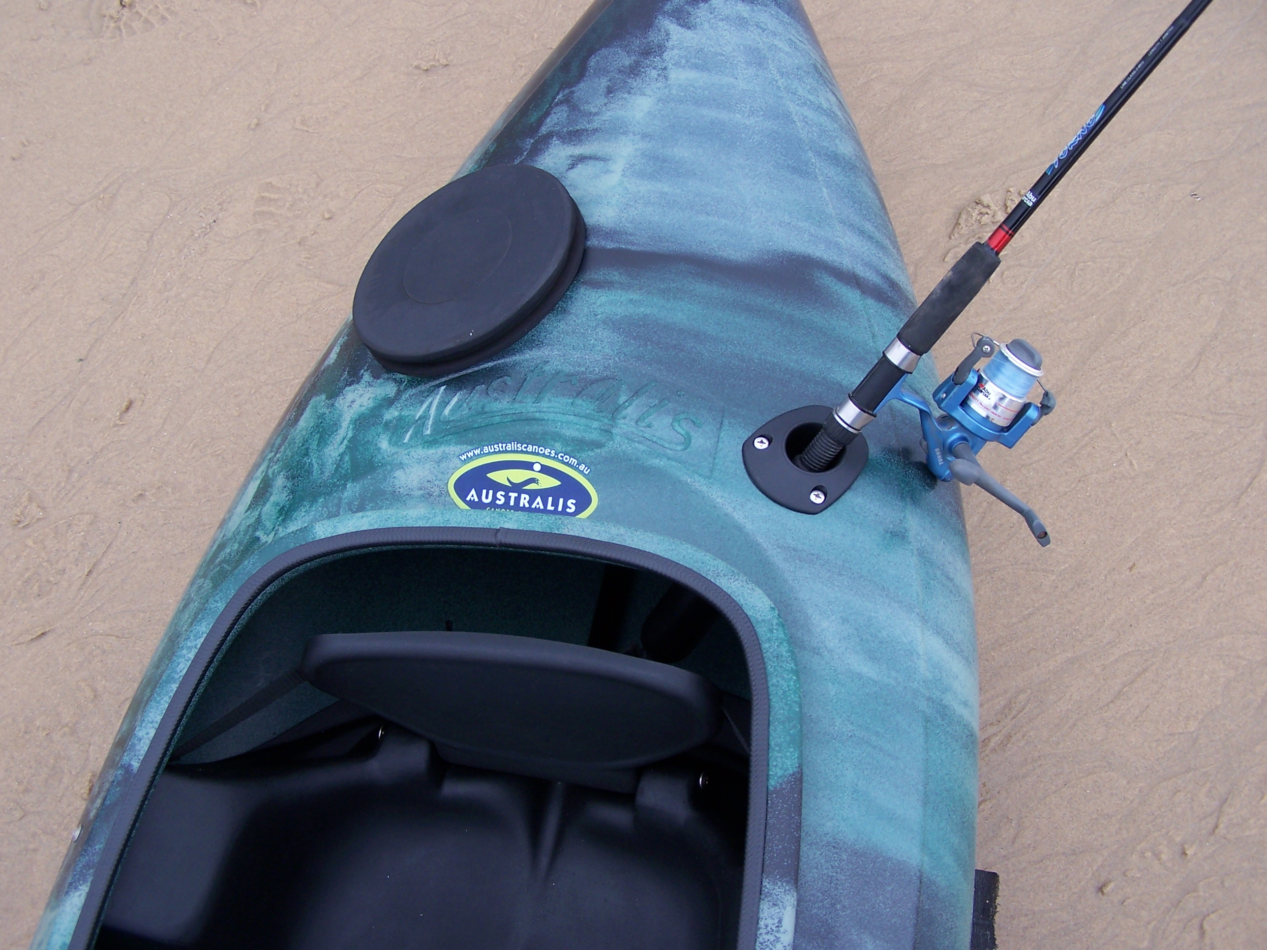 Bass fishing kayaks and angler packages with pod made in for Bass fishing kayak