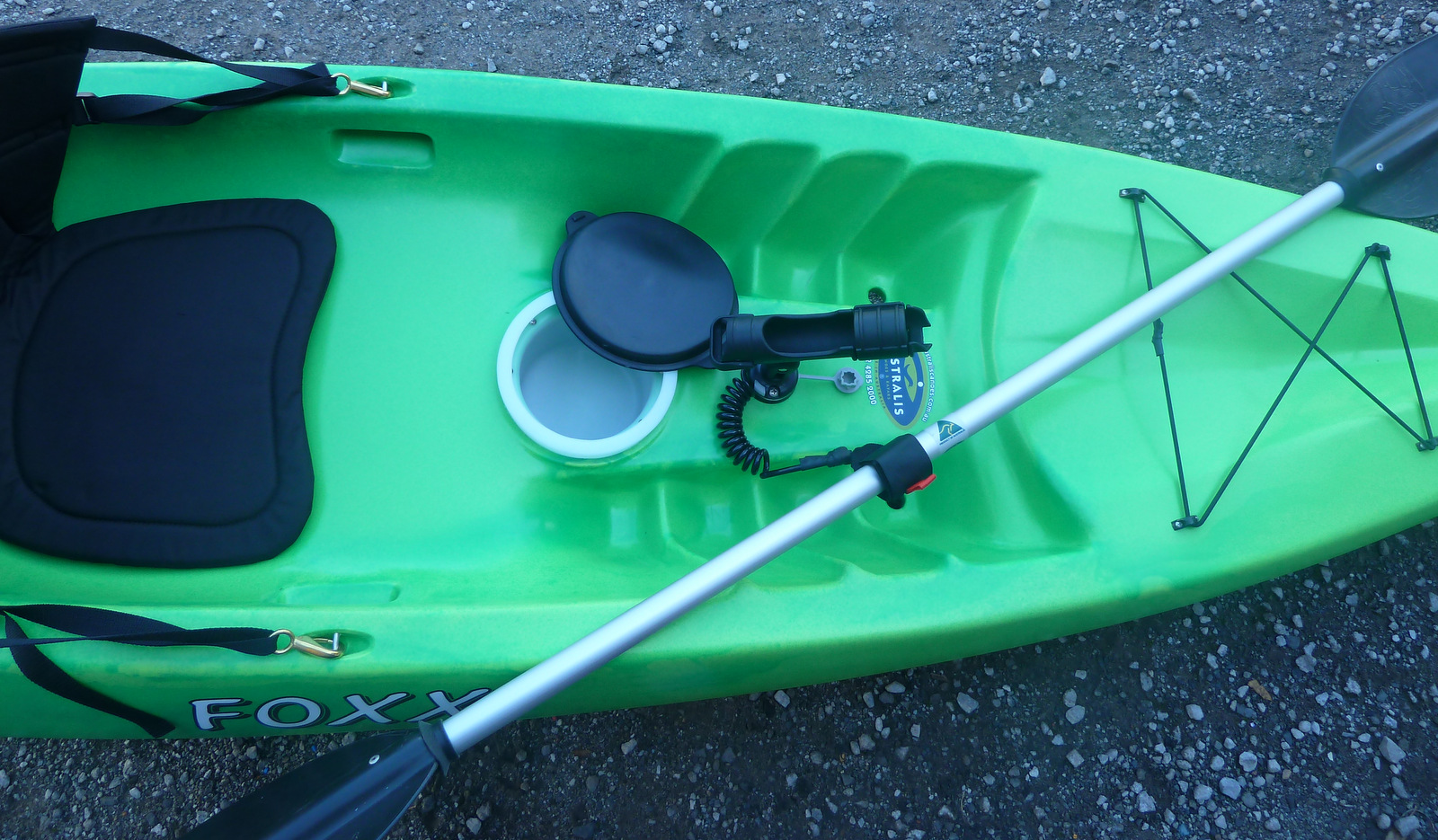 Foxx Stackable Sit On Top Fishing Kayak Made In Australia