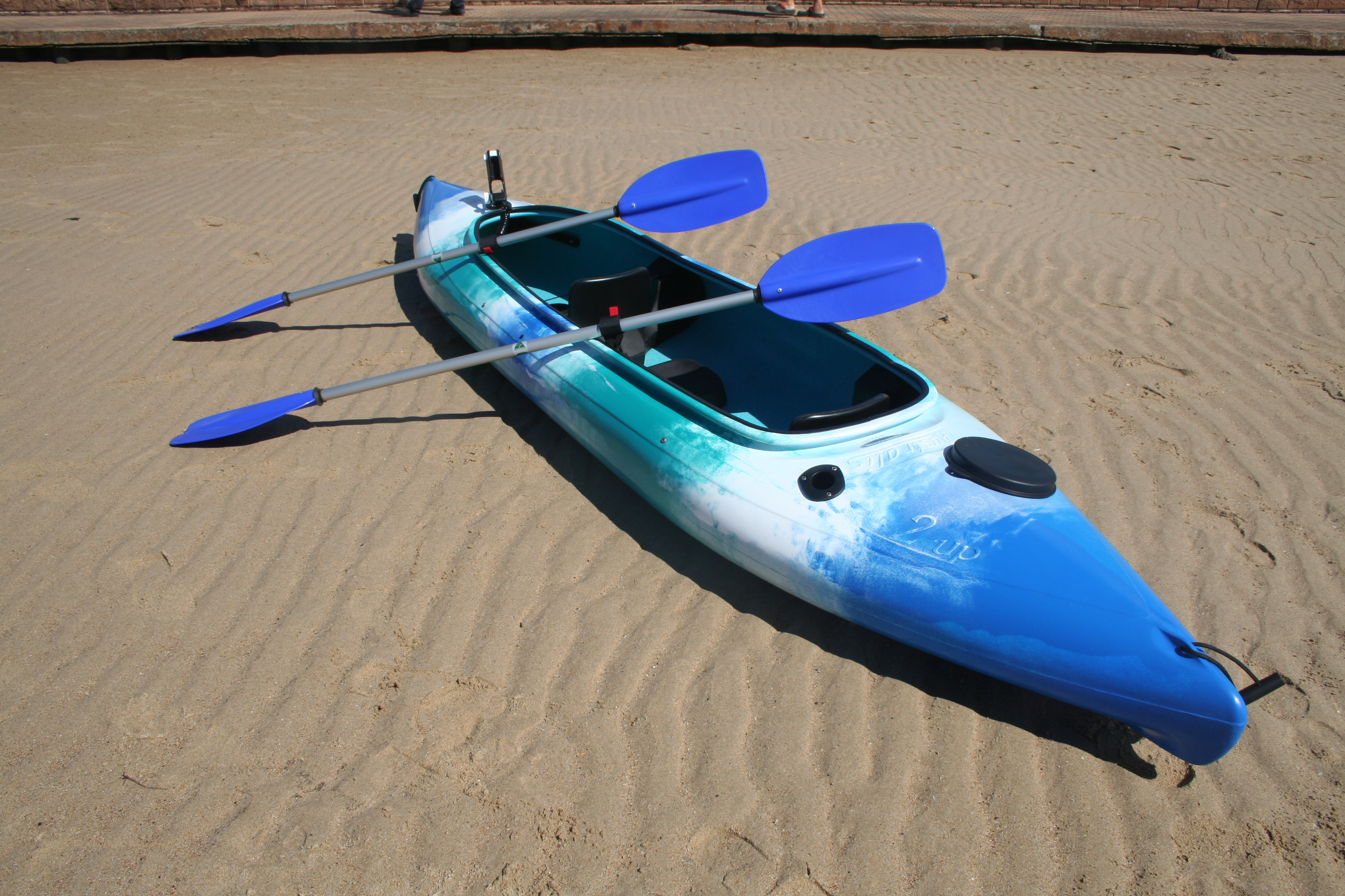 2 Up Fishing Kayaks With Pod Made In Australia By