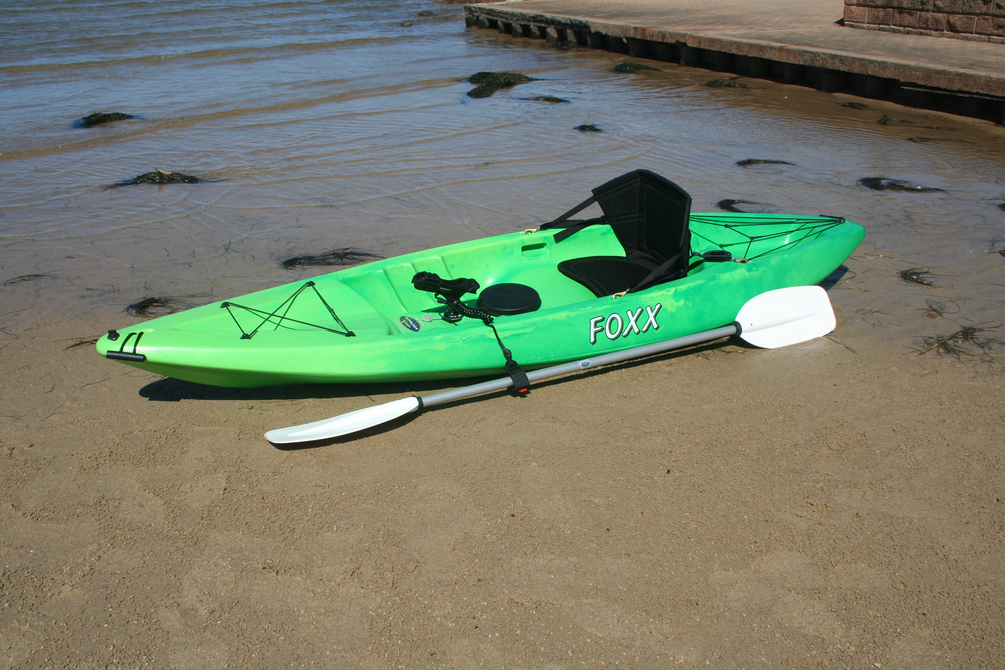 Foxx stackable sit on top fishing kayak made in australia for Best fishing canoe