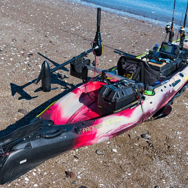 Kayak motor mount by railblaza for Fishing kayak with trolling motor