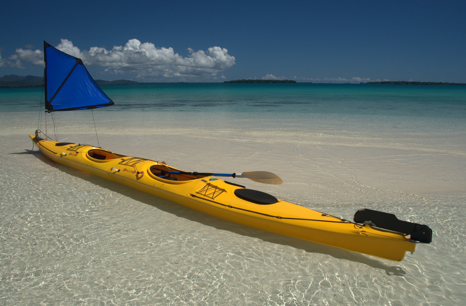 Komodo modular expedition sea kayak made in australia by for Sea fishing kayak