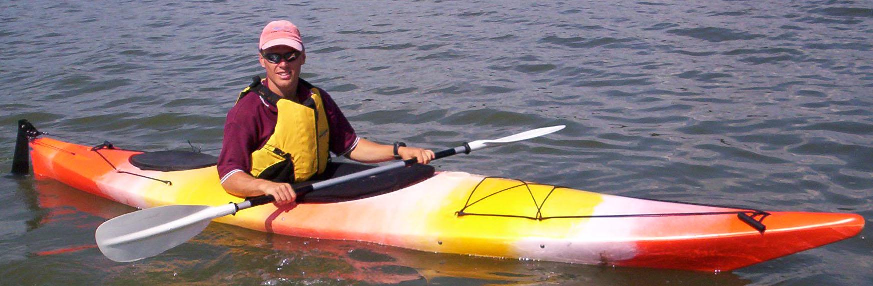 Saratoga Bay Touring Kayak made in Australia by Australis