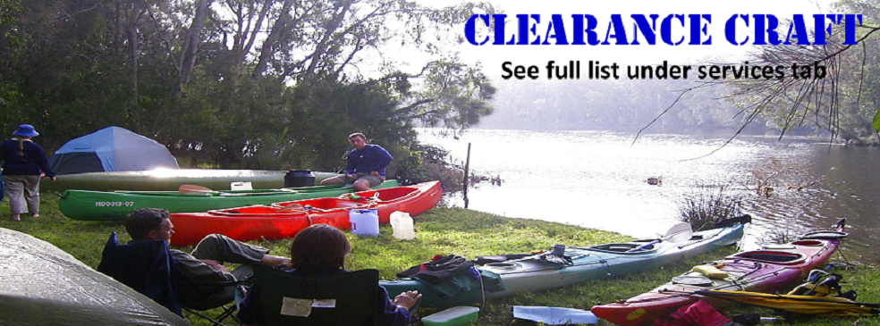 Sale of Australian Made Canoes | Kayaks | Sea Kayaks | Sit-on-Tops