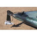 Bass Angler Kayak with Rudder & Motor by Australis