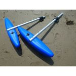 Double Outrigger Kit for small Sit-on kayaks by Australis