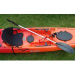 Pelagic Sit-on-Top Angler Kayak with Rudder by Australis