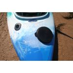 3 litre storage pod in 2-Up double kayak by Australis