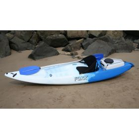 Foxx Sit-on-Top Kayak with Backrest & Ute Box by Australis