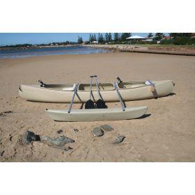 Bushranger Standard  Fishing Canoe with Single Outrigger by Australis