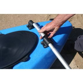 Attaching Double Outrigger Kit for small Sit-on kayaks