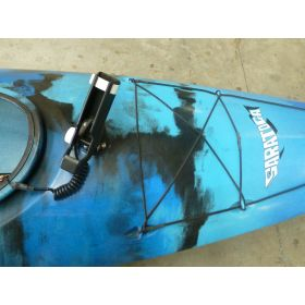Saratoga Angler Kayak with Rudder & Motor by Austalis