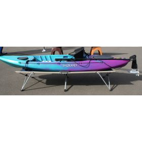 Squid Sit-on-Top Fishing Kayak with Rudder & Motor by Australis