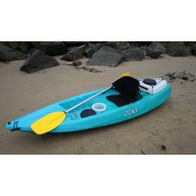 Ocky Sit-on-Top Kayak with Backrest, Pod & Ute Box by Australis