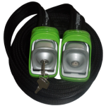 Kanulock Lockable Tiedowns for added security - 2.5m