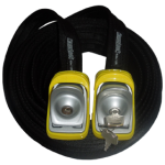 Kanulock Lockable Tiedowns for added security - 4.0m