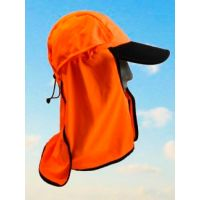 Legionnaires Style Kalahari Hat by Uveto- Hi-Vis Orange