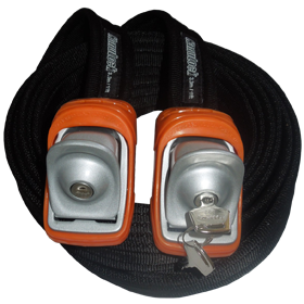 Kanulock Lockable Tiedowns for added security - 3.3m