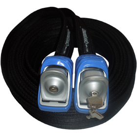 Kanulock Lockable Tiedowns for added security - 5.4m