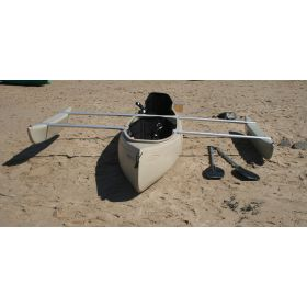Bushranger Angler Canoe with Outriggers by Australis