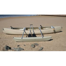 Bushranger Fishing Canoe with Outrigger by Australis
