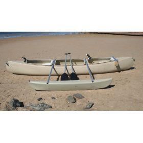Bushranger Fishing Canoe with Outrigger by Australis