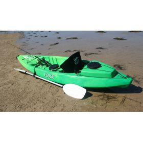 Foxx Sit-on-Top Angler Kayak with Backrest & Ute Box by Australis