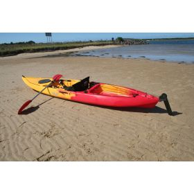 Pelagic High-volume Sit-on-Top Kayak with Backrest & Rudder by Australis