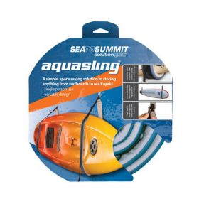 Aquasling for wall storage for kayaks, surf boards & SUPs