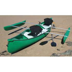 Swagman Angler Canoe with Outriggers by Australis
