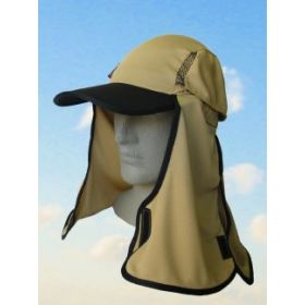 Legionnaires Style Kalahari Hat by Uveto - Camel
