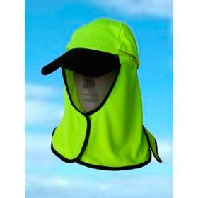 Legionnaires Style Kalahari Hat by Uveto - Hi-Vis Yellow