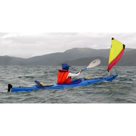 Gecko Compact Sea Kayak with Sail by Australis