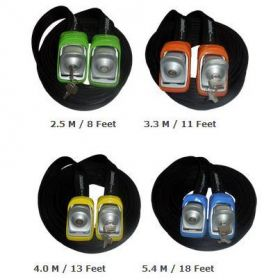 Kanulock Lockable Tiedowns for added security - all sizes